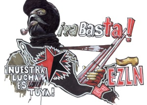 ANARCHIST ART - (EZLN SOLIDARITY CHIAPAS ZAPATISTA!) -SHARE - USE - DIY - HiRes - woodenshoe