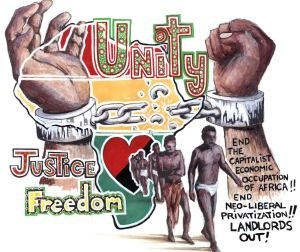 ANARCHIST - LEVELER ART - ( AFRICA SOLIDARITY BLACK UNITY ANTI- CAPITALIST) -SHARE - USE - DIY -