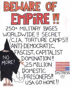 ANARCHIST - LEVELER-ART - (BEWARE OF EMPIRE! ANTI-TORTURE ANTI-HEGEMONY) -SHARE - USE - DIY - Low