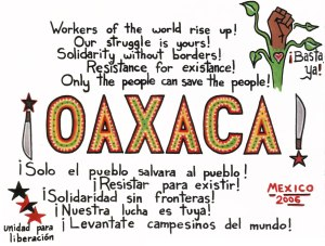 ANARCHIST - LEVELER ART - ( OAXACA SOLIDARITY ANTI- CAPITALIST) -SHARE - USE - DIY -